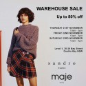 Sandro Paris + Maje Paris Sydney Warehouse Sale
