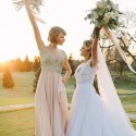 Taylor Swift was Maid Of Honour at Her Bestie's Wedding
