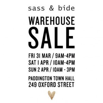 sass & bide Sale Instore and Online