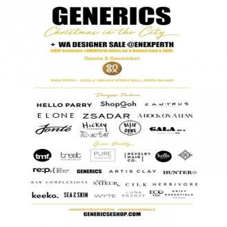 Generics Christmas Perth Designer Sale