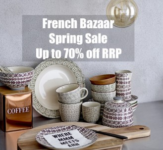 French Bazaar Spring Cleaning Warehouse Sale