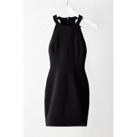 Iris T-back mini dress, Bec & Bridge, $160, https://becandbridge.com.au/store/dresses/iris-t-back-scuba-mini-dress.html