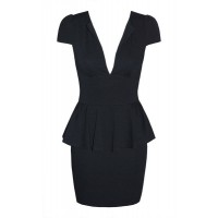 Devilish Black Peplum Dress $59.95, Little Party Dress http://bit.ly/XQ60NW