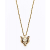 Ann Taylor Townhouse Fox Head Necklace, AUD $55.90 http://www.anntaylor.com/townhouse-fox-head-necklace/318267?colorExplode=false&skuId=14742507&catid=cata00008&productPageType=fullPriceProducts&defaultColor=3019