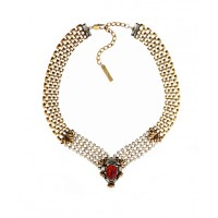 Peter Lang Wanda Baroque Ruby Crystal Necklace, $198. http://www.peterlang.com.au/shop/item/wanda-baroque-ruby-crystal-necklace