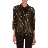 Metallic Spot Top http://www.countryroad.com.au/sale/woman/clothing/60155225/Metallic-Spot-Top.html