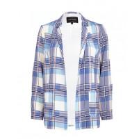 River Island Blue Tartan Relaxed Blazer, $86.45, http://au.riverisland.com/women/coats--jackets/blazers/Blue-tartan-relaxed-blazer-655370