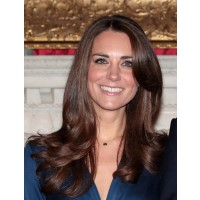 The secret to Kate's look is creating a super reflective shine. Image via http://beautyeditor.ca/2010/11/17/newly-engaged-kate-middleton-has-hair-and-makeup-that-is-royally-awesome/