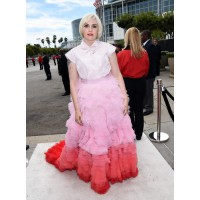 HBO Girls' Lena Dunham in Giambattista Valli.