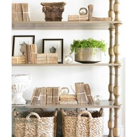Perfect clutter, keep it all in the family. http://tidbitsandtwine.com/decorating-baskets-18-everyday-ideas/