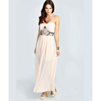 Emma Embellished Waist Pleated Woven Maxi Dress - $80 http://www.boohoo.com/new-in/emma-embellished-waist-pleated-woven-maxi-dress/invt/azz29119