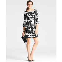 Ann Taylor Bold Geometric Print Dress, AUD $204.40 http://www.anntaylor.com/bold-geometric-print-dress/308079?colorExplode=false&skuId=14570933&catid=cata00008&productPageType=fullPriceProducts&defaultColor=6600