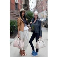 Fashion blogger FrouFrou and Linda Rodin, image via advancedstyle.com http://advancedstyle.blogspot.com.au/2013_03_01_archive.html