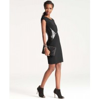 Ann Taylor Faux Leather Panelled doubleweave Dress, AUD $219.10 http://www.anntaylor.com/faux-leather-paneled-doubleweave-dress/317214?colorExplode=false&skuId=14651489&catid=cata00008&productPageType=fullPriceProducts&defaultColor=6600