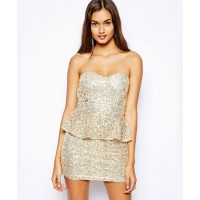 Glamorous Sequin Peplum Dress - $54.78 http://www.asos.com/au/Glamorous/Glamorous-Sequin-Peplum-Dress/Prod/pgeproduct.aspx?iid=3761068&SearchQuery=turquoise%20sequin&sh=0&pge=0&pgesize=36&sort=-1&clr=Sequingold