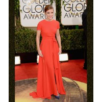 Take a cue from Emma's stylebook and pair a flirty summer dress with pants or tights. Source: Jason Merritt/Getty via Zimbio. http://www.zimbio.com/photos/Emma+Watson/71st+Annual+Golden+Globe+Awards+Arrivals/YYOBp9ONnc_