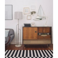 A prime example of what good retro looks like and how to work it into your contemporary space. http://www.pinterest.com/pin/76490893643896511/