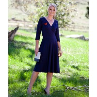 9. Sacha Drake Reverse Wrap Full Skirt Dress $249 http://bit.ly/Yu0yva