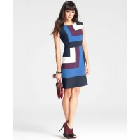 Ann Taylor Geometric Colourblocked Sheath Dress, AUD $189.70 http://www.anntaylor.com/geometric-colorblocked-sheath-dress/315200?colorExplode=false&skuId=14571084&catid=cata00008&productPageType=fullPriceProducts&defaultColor=1212
