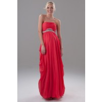 Got a formal occasion? Sorted! Hailee Gown in Coral, by George Evening http://oriri.com.au/hailee-gown-in-coral