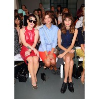 Pixie Geldof at London Fashion Week 2012 with Kelly Osborne and Alexa Chung at London Fashion Week 2012 with Kelly Osborne and Alexa Chung