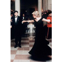 Diana and John Travolta danced for half and hour at the White House during a 1985 State visit. http://www.marieclaire.co.uk/celebrity/pictures/30982/42/princess-diana-s-iconic-style-moments-fashion-pics-marie-claire-uk.html#index=23