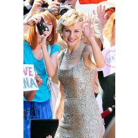 Naomi Watts in a recreation of a Jacques Azagury dress in character as Diana. http://www.marieclaire.co.uk/news/celebrity/543192/naomi-watts-as-princess-diana-first-look-at-trailer.html#index=1