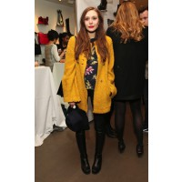 Elizabeth Olsen at a New York Fashion Week event. http://www.zimbio.com/pictures/L4islKOxwp9/Cher+Coulter+Capsule+Collection+AG+Event+Fall/Wo2gGJN_uZG/Elizabeth+Olsen
