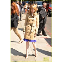 In the trenches. http://cdn04.cdn.justjared.com/wp-content/uploads/2012/06/stone-lateshow/emma-stone-late-show-appearance-09.jpg