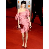 Audrey Tautou in Lanvin at the British Academy of Film and Television Awards. peoplestylewatch.com