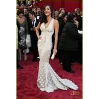 Marion Cotillard in Jean Paul Gaultier at the 2008 Academy Awards. www.justjared.com