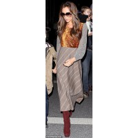 Victoria Beckham in Junya Watanabe http://i.dailymail.co.uk/i/pix/2012/11/22/article-2236689-162883C4000005DC-431_306x906.jpg