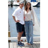 Princess Mary in 2003 before she was groomed for royal life. http://www.fabsugar.com.au/Crown-Princess-Mary-Donaldson-Style-Maternity-Wear-Chic-From-New-Mum-Twins-10480726?image_nid=10480743