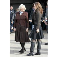 Princess Mary with Camilla Parker Bowles. http://www.thevine.com.au/fashion/style/the-complete-crown-princess-mary-style-guide-20131025-267261/