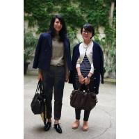 Yasuko Nakamori (left) and Akiko Ono