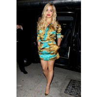 Wearing Katie Eary and Christian Louboutin. http://www.oohlalablog.com/celebrity-style/2013/06/rita-ora-13/