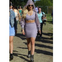 Rita Ora at this year's Glastonbury Festival where she performed. http://www.thefashionspot.com/celebrity-fashion/309895-glastonbury-festival-2013/#/slide/16