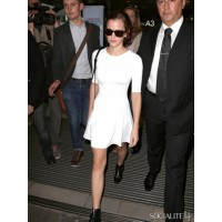 "Emma Watson in Nice, France promoting ""The Bling Ring"". http://socialitelife.com/photos/celebrity-street-style-05-14-2013/celebs-touch-down-at-nice-airport"