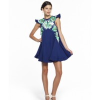 Alice McCall find it here http://www.alicemccall.com/shop/item/rutile-dress-sapphire-pre-order