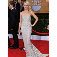 – In Marchesa at the Screen Actors Guild Awards this month. www.entertainentwise.com