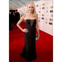 Stunning in Emilio Pucci at the Critics' Choice Awards this January. fashionncare.com