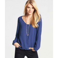 Ann Taylor Hexagon Print Georgette Bubble Hem Blouse, AUD$116.20 http://www.anntaylor.com/hexagon-print-georgette-bubble-hem-blouse/308855?colorExplode=false&skuId=14551949&catid=cata00008&productPageType=fullPriceProducts&defaultColor=1487