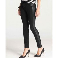 Ann Taylor Faux Ponte Leggings, AUD $144.10 http://www.anntaylor.com/faux-leather-ponte-leggings/309942?colorExplode=false&skuId=14426919&catid=cata00008&productPageType=fullPriceProducts&defaultColor=6600