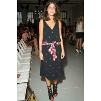 Image1: Leandra Medine 'street style' shot front row at Tibi Spring 2013. Source: manrepeller.com, via Tibi's official blog (tibi.com/blog).