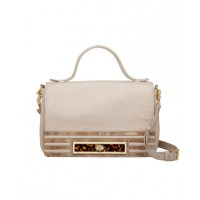 Mimco Tough Romance Handbag in Latte, $450, mimco.com.au