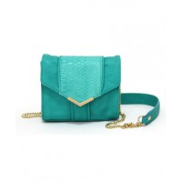 Wayne by Wayne Cooper Kim Shoulder Bag in Teal, $99.95, myer.com.au