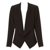 This Jane Lamberton jacket at Myer will look smart over a patterned skirt or slim pant http://www.myer.com.au/shop/mystore/jane-lamerton-waffle-waterfall-light-jacket