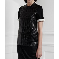 Ellery salute boxy tee $880.00 http://www.elleryland.com/spring-13/salute-boxy-tee-with-contrast