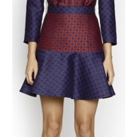 Camilla and Marc Anchar skirt $460.00 http://www.camillaandmarc.com/anchar-skirt-blue-and-red-graphic.html