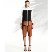 Josh Goot Colour Block Shirting: Long Sleeve Shirt $595.00 http://www.joshgoot.com/collections/shop-ss13-25
